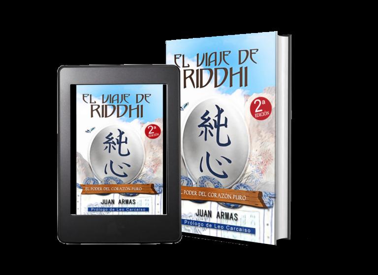 libro el viaje de riddhi